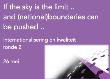 Internationalisering & kwaliteit ronde 2